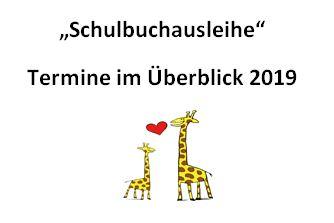 """""""Schulbuchausleihe 2019"""""""